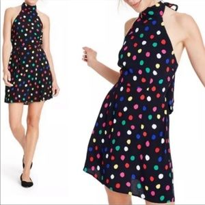 NWT Rico x Target Polka Dot Halter Dress. M + 2X